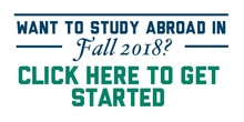 Study Abroad in Fall 2018