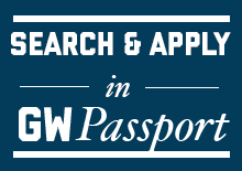 Search & Apply in GW Passport