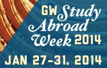 Study Abroad Week Dates