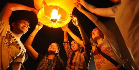 Lanterns in India