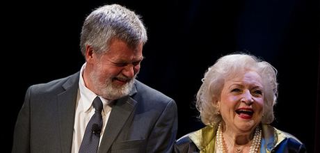 Comedian Betty White at GW's Lisner Auditorium