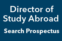 Director of OSA Search Prospectus