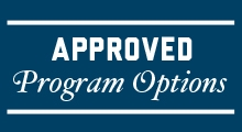 Approved Program Options