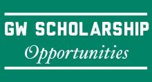 GW Scholarship Opportunities