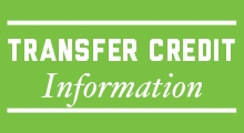 Transfer Credit Information