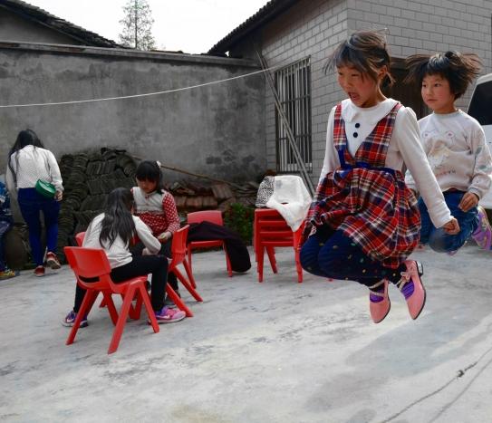 Children Jump-roping