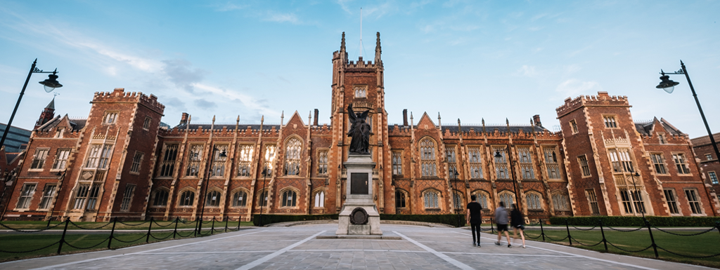 The Lanyon Building at Queen's University Belfast.